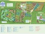 Map at Haven Hopton