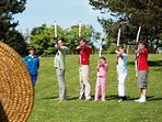 Archery at Haven Hopton rent your holiday through us 2cholidays