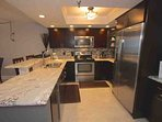 Beautiful Updated Fully Equipped Kitchen for Meals Large and Small/Breakfast Bar with Seating for 2
