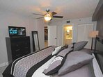 Master Suite with King Bed/Flat Screen Cable TV/Private Master Bathroom/Access to Large Scenic Balcony Overlooking the...