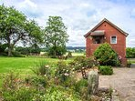 CROFT VIEW, first floor apartment, en-suite, romantic retreat, walks and cycle