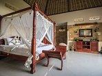 Big size bedroom #1 for your honeymoon