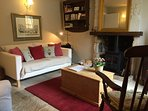 Lovely warm and welcoming sitting room