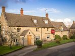 Take a short walk to the well regarded local pub
