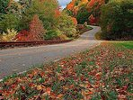 Autumn on the Cherohala Skyway. For more info visit Teresa's Apartment Get-A-Ways