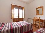 Casa rural Nº4. Dormitorio 2