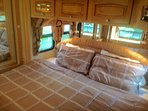 Master suite with king bed and tons of storage