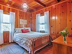 You'll have many great nights of sleep in this cozy queen-sized bed.
