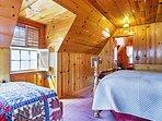 Plenty of light shines through the loft to wake you up each morning!