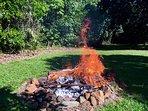 Garden fire pit