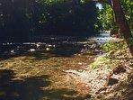 Imogen River fresh water swimming hole