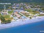 Villa HELIOS near the beach