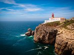 Visit Cape St. Vincent, next to Sagres Point, the south western most point in Portugal & Europe.