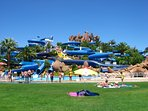 Water Park Slide & Splash