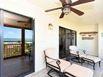 Spacious Lanai Accessible From Living and Master
