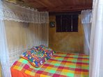 Casitas Kinsol Room #8 - An authentic Mayan hut with a thatched roof -With 1 double sized bed