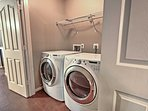 Pack light! You'll be able to do your laundry throughout your stay.