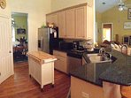 Enjoy your Fully-Equipped Granite Kitchen, Great Room, and Dining Room