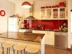It's a beautiful kitchen!