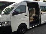 Luxury private minibus available