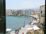 A part of Chania harbour