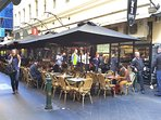 Degraves St very close by - cafe precinct