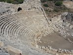 Patara became an important city in the Roman Empire. Its surviving buildings, is only 20 min by car.