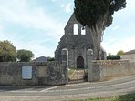 This church is across the lane from the house.  A place of tranquillity and beauty.