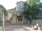 We even have our own ruin in the garden, great for the dogs to play round.