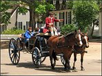 Horse and carriage tours.