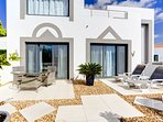 From the bedrooms you have the option of another terrace to sit or sunbathe. So much choice!