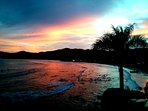 Sunset looking north from Sayulita