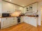 Luxury kitchen area.
