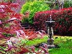 The Secret Garden in Spring.