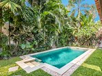 Tropical garden of Villa Can Barca