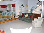 Living Room & Stairway