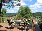 Enjoy Outside Dining w/A View