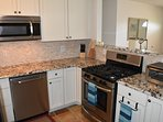 Just updated, all new kitchen.  Gas stove!