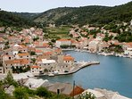 Pucisca, view from the hill, Brac Island