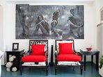 Apt CT1 - Living room