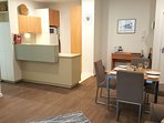 Catani 1 dining & kitchen areas - now with all new kitchen appliances & timber flooring