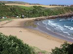 Coldingham Bay great for surfing