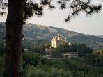 Vista panoramica Castello Rocchetta Mattei.