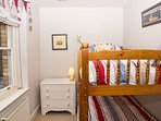 with solid bunk beds