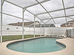 Featuring a screened-in lanai with a large, private pool, this vacation rental house promises a relaxing retreat!