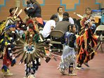 Pow wow at Thanksgiving, Taos Community Center