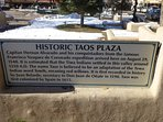 Historic Taos Plaza, 5.5 miles from home