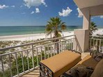 Master Bedroom Balcony Looking Out to the Gulf of Mexico