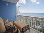 Master Bedroom Balcony Overlooking Beach and Gulf