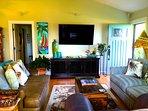 Living Room, Queen Sofa Twin Loveseat